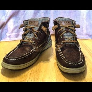 Sperry Marella Top-Sider leather boots/shoes SZ 6